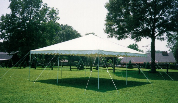 20×20 Pole Tent & 20x20 Pole Tent | Lets Party Inc.