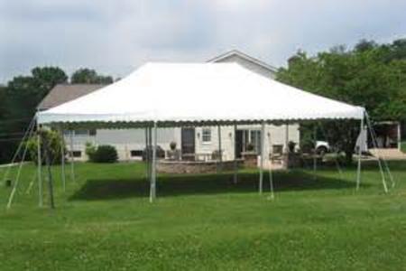 20x30 Pole Tent Image
