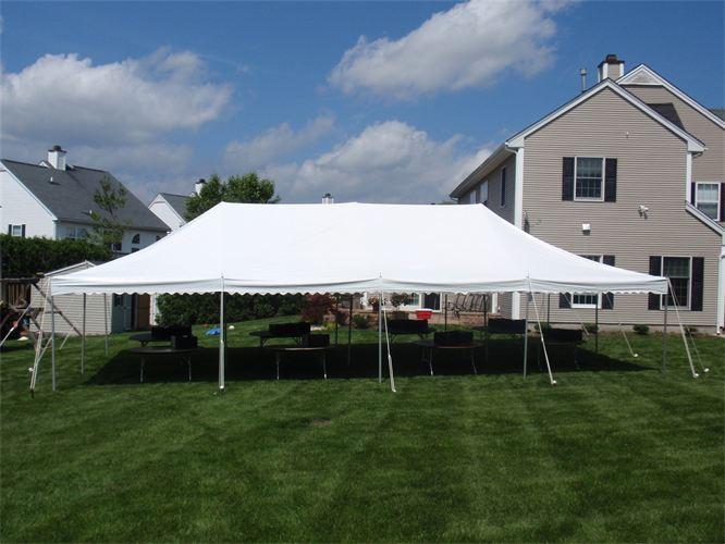 20x40 Pole Tent Lets Party Inc