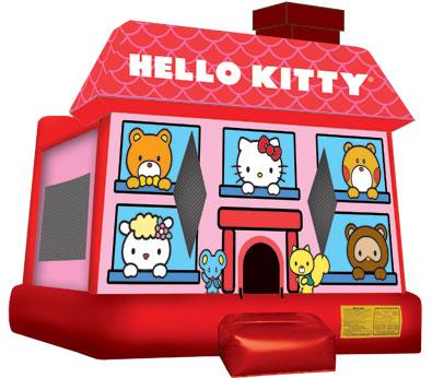 Hello Kitty Moonwalk Image
